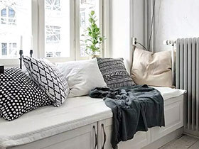 10个舒适惬意飘窗装修效果图 美家新灵感