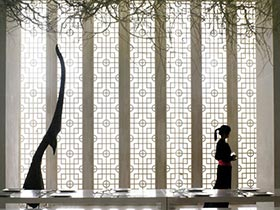 灵魂艺术之门  10个中式隔断设计图片