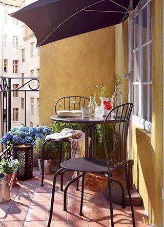 花园阳台设计实景图