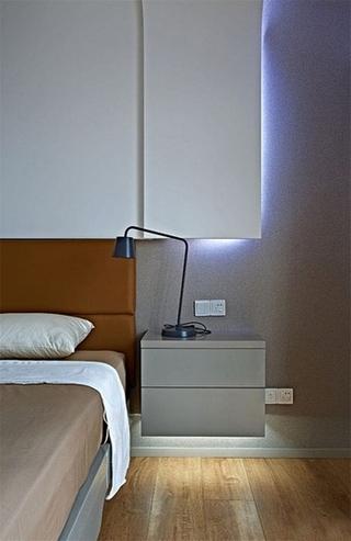 极简与时尚完美结合 年轻人最爱的简约风格装修卧室效果图