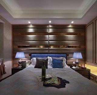 欧式风格装修 低调的奢华欧式卧室效果图