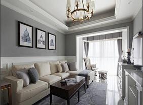 体验冷色调的美感 现代简约风格两居室装修