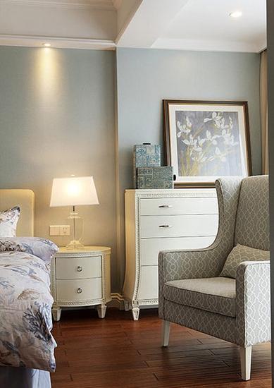 15万装美式混搭风格两居室布艺沙发