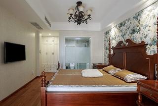 美式新古典风情 卧室整体效果图
