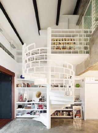 旋转楼梯装修装饰图片