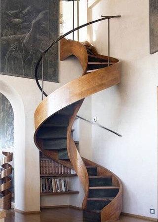 旋转楼梯布置效果图
