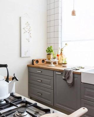120平两室一厅厨房装潢设计