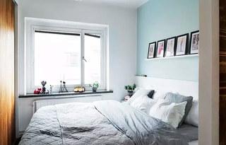 60平小公寓卧室效果图装修