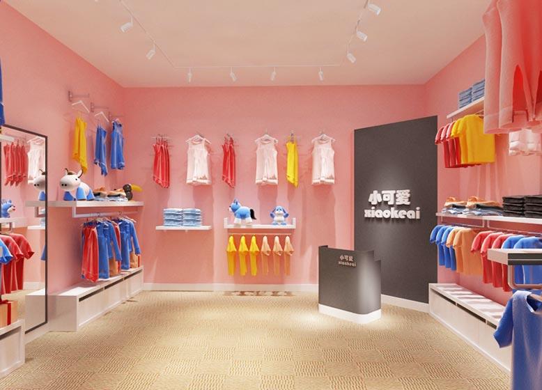 时尚儿童店装修图片