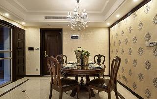 新古典风格三居餐厅设计壁纸图片