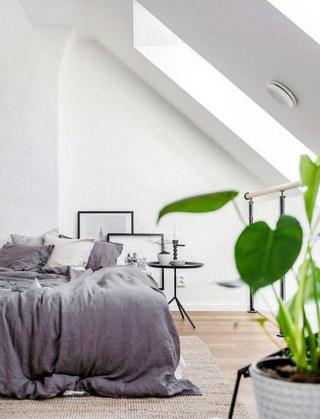 阁楼公寓卧室地毯设计图