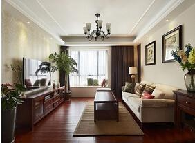 不失自然活力元素  美式三居室让你懂得享受生活