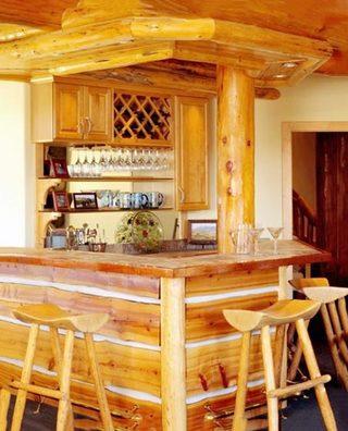 木质吧台装修装饰图片