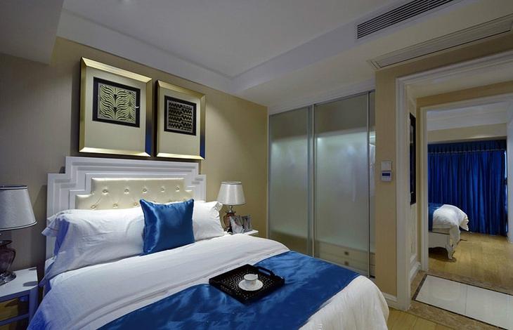 时尚质感欧式卧室效果图