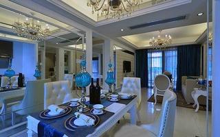 欧式风格两居室装修餐厅效果图装修