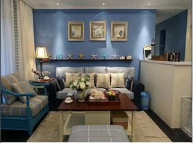 地中海风格三居室装修 海洋元素清新惹人爱
