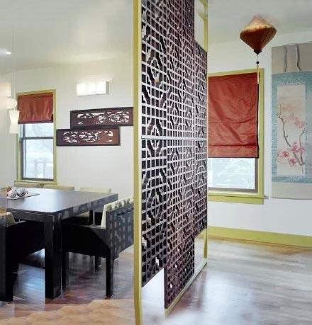 室内隔断装修装饰效果图