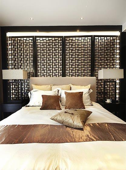 120平米中式两居室布置图片