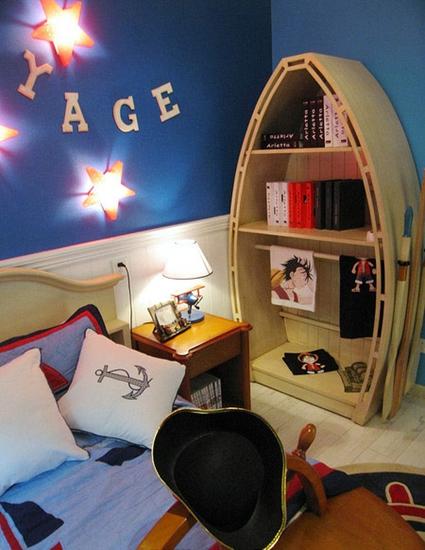 田园风格两居室装修儿童房效果图装修