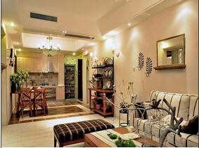 田园风格两室两厅装修 充满诗意的家