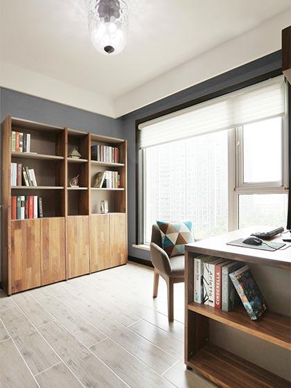 118㎡现代风格公寓书房图片大全