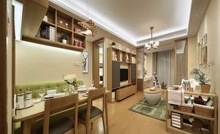 简约风格两居室装修餐厅橱柜图片