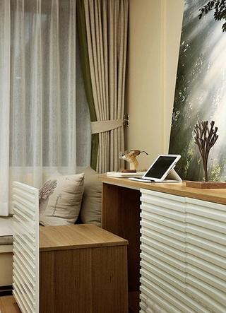 简约风格两居室装修次卧榻榻米装修