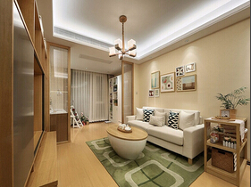舒适的日式风格装修  这样的家很有格调