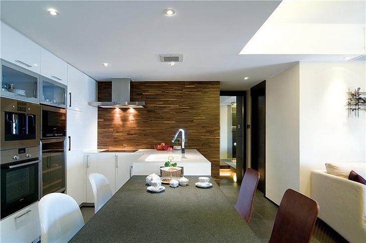 简约风格三居室装修餐厅装修效果图