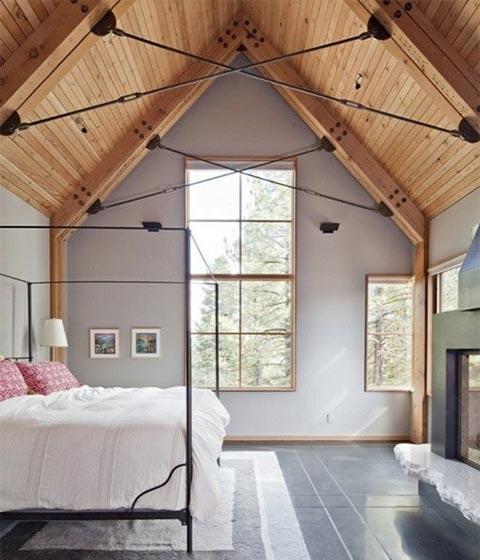 阁楼卧室设计实景图