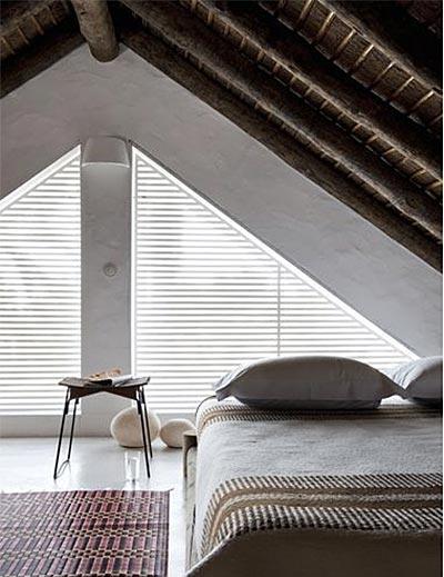 阁楼卧室设计平面图片