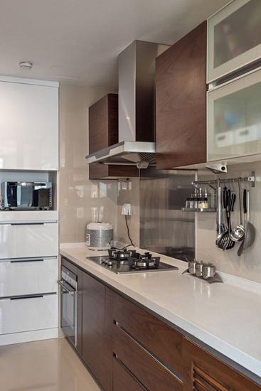 简约风格三居室装修整体厨房设计图