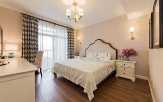 美式风格四房两厅装修主卧室设计