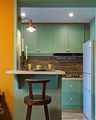 46平一居室厨房吧台设计图