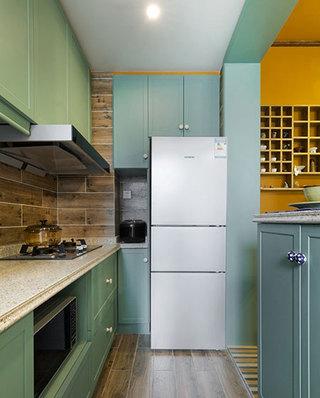 46平一居室厨房装潢图