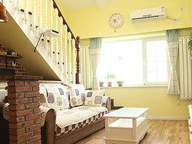 120平米田园风格三居室装修 浪漫唯美