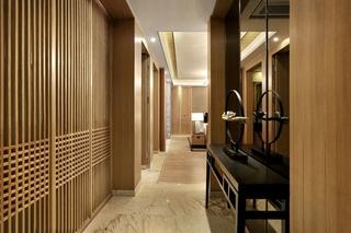 简约风格四房两厅装修过道效果图