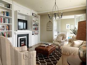 美式风格小三室装修 温馨空间十分迷人