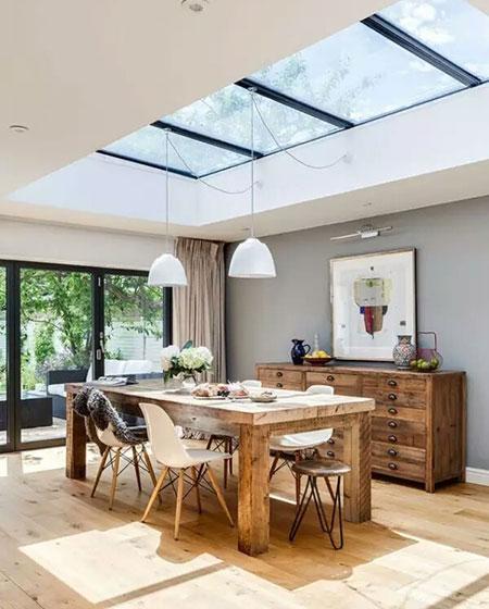 餐厅玻璃吊顶装修设计