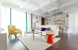 130平米简美两居室装修装饰效果图
