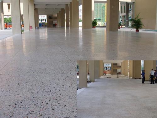 水磨石地坪施工工艺及操作流程