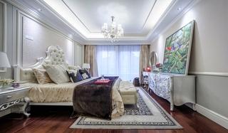 美式风格四室两厅装修卧室装修图