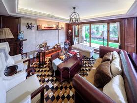 美式风格三居室装修效果图 精致的居住空间