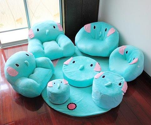 懒人沙发设计实景图