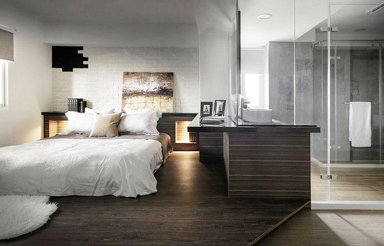 280平loft公寓主卧室装修