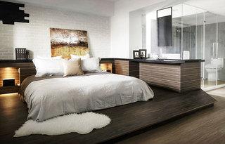 280平loft公寓卧室地台设计图