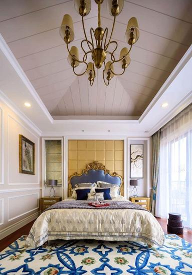 欧式风格装修卧室地毯效果图