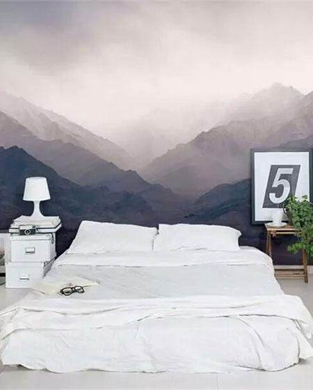 卧室床垫装饰设计图