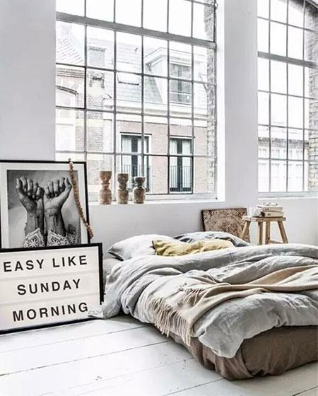 卧室床垫装修装饰图