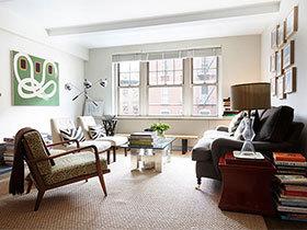 简约现代单身公寓效果图  自在的新家
